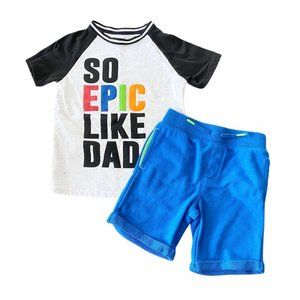 Garanimals 4T Epic Like Dad Outfit
